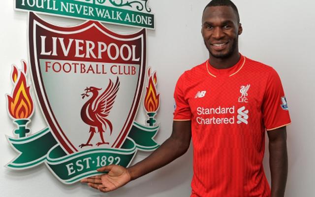 Has Christian Benteke hinted at his new Liverpool squad number?