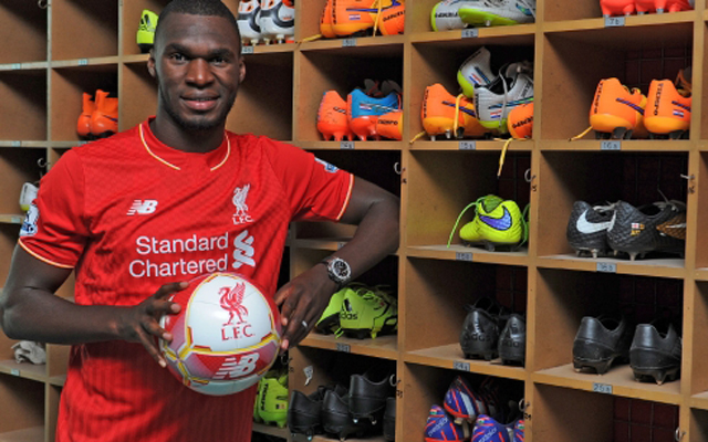 Christian Benteke leaning gallery! Belgian powerhouse performs traditional transfer ritual!