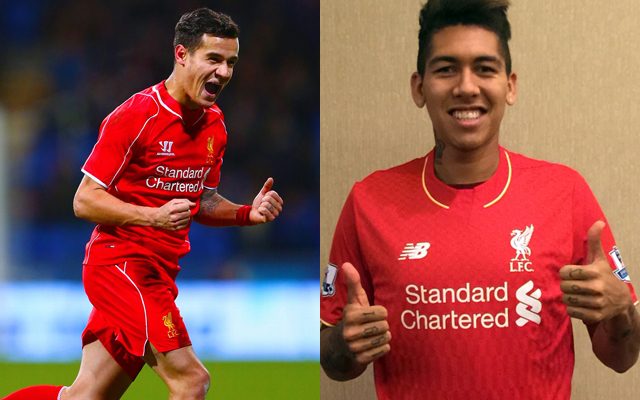 Brazilian star outlines differences between Coutinho and Firmino