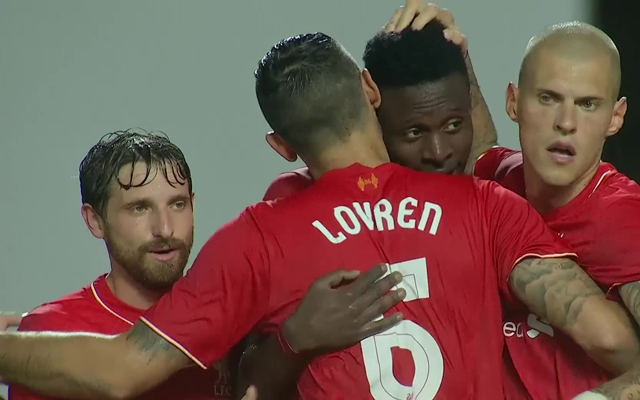 Divock Origi and the last ten Liverpool players to score on debut, with Layton Maxwell & Chilean flyer