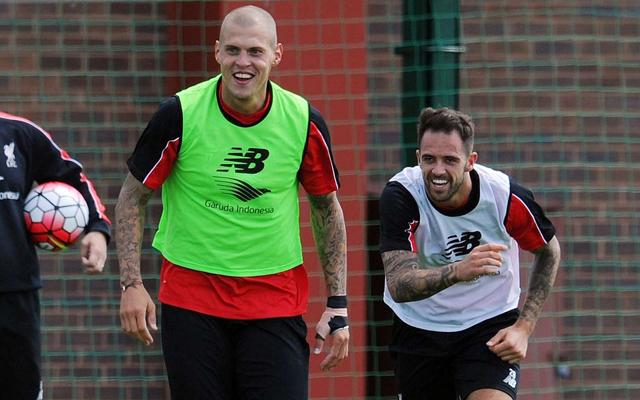Liverpool training 2