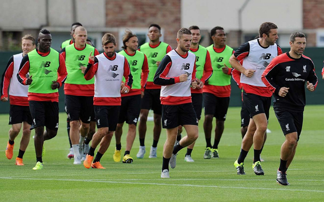 How Liverpool FC trains?