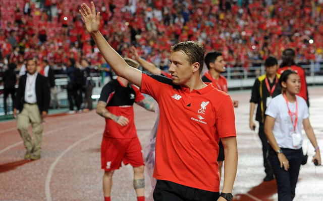 Liverpool put Lucas Leiva up for sale – price-tag named