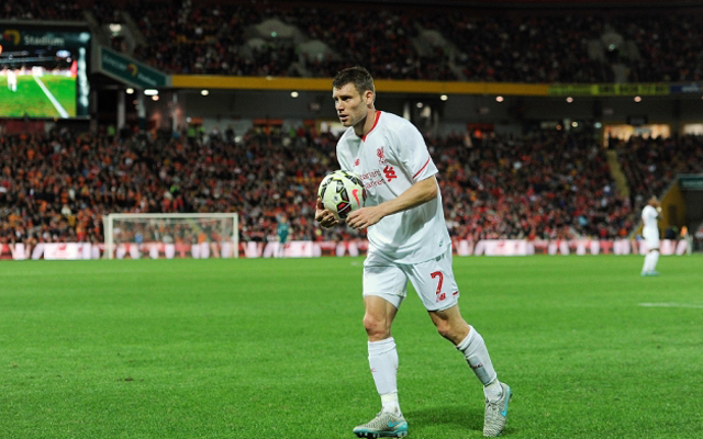 James Milner announced as Liverpool's new vice-captain