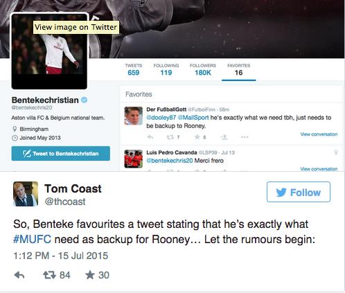 Christian Benteke Twitter