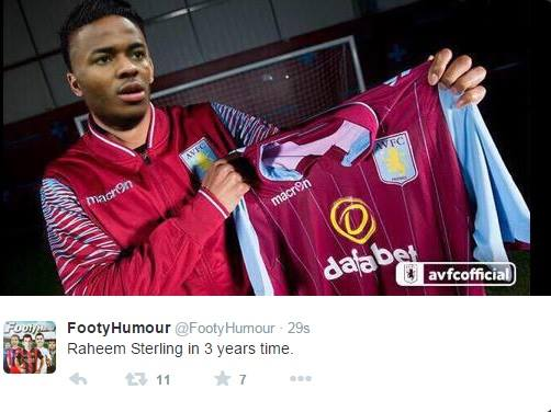 The best Twitter comments as Sterling's £49m City switch breaks internet!