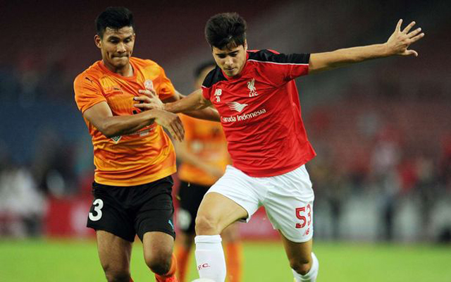(Video) Joao Carlos Teixeira's amazing 40-yard goal against Felda United