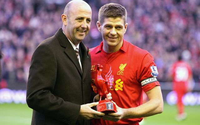 Steven Gerrard explains how Gary McAllister played an important role in his career
