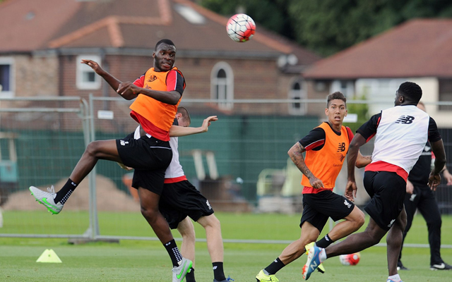 Liverpool training gallery: Benteke and Firmino star as Reds gear up for Sunday