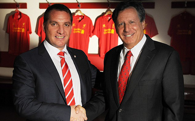 Tom Werner reveals why Liverpool decided to keep Brendan Rodgers