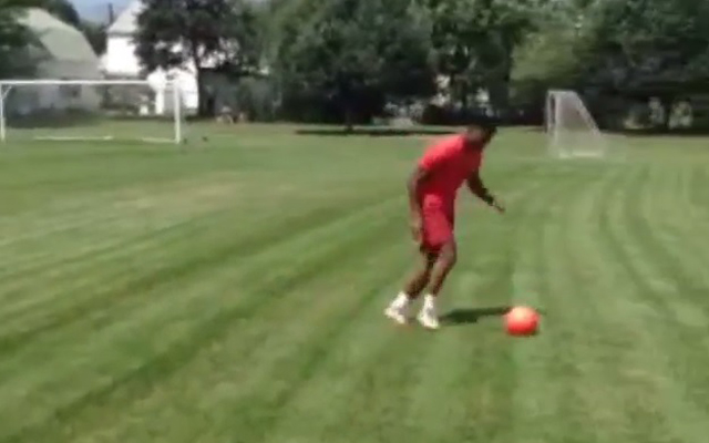 (Video) Daniel Sturridge plays football for the first time since hip operation