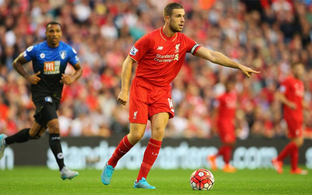 Jordan Henderson tells Liverpool fans he's close to return