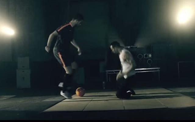(Video) Jordan Henderson stars in new drink advert with amazing break dancer