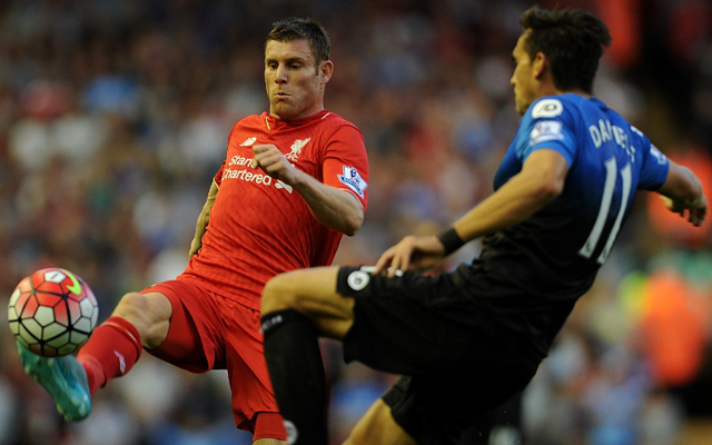 James Milner promises Liverpool will now make Anfield a fortress