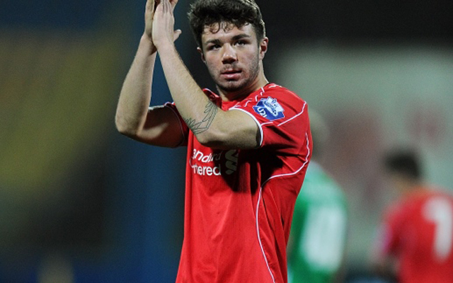 Liverpool left-back Joe Maguire joins League Two side on one-month loan deal