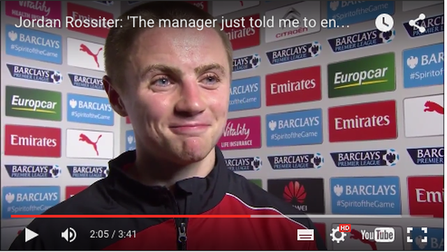 Jordan Rossiter on why he 'loved' his European debut for Liverpool