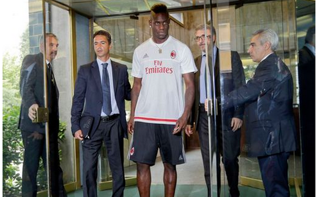 (Video) Balotelli scores once & assists twice on AC Milan debut…