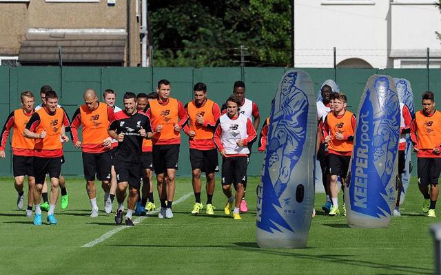 Liverpool training gallery: Sturridge returns; Mamadou Sakho in high spirits