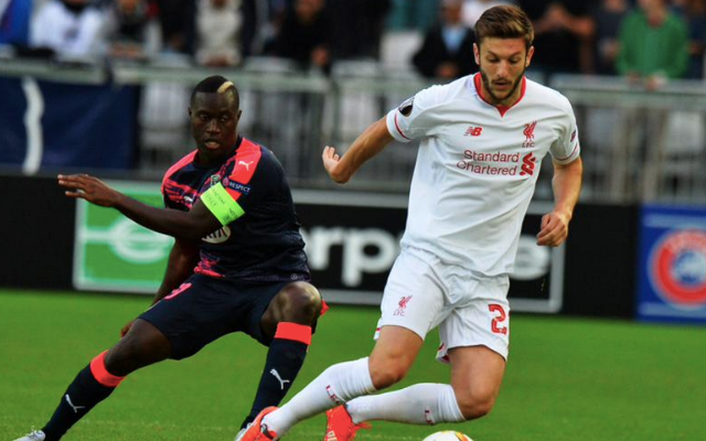Liverpool player ratings v Bordeaux – Lallana scores but Sakho best in 1-1 draw