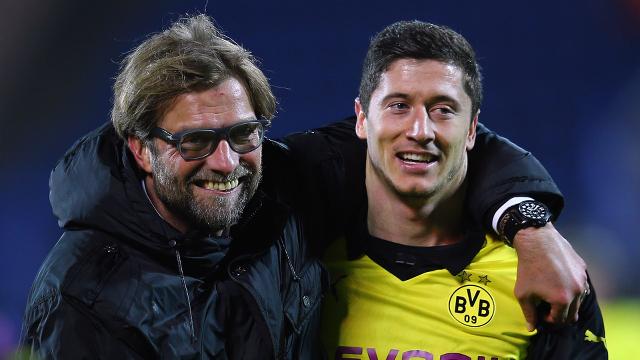 Lewandowski reveals brilliant training ground promise with Jurgen Klopp