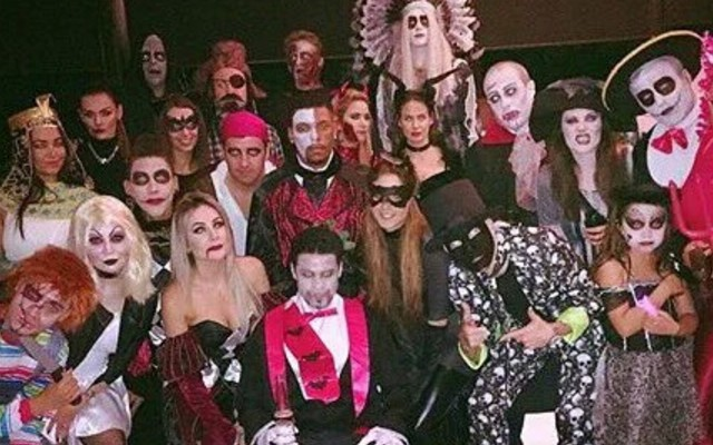 (Image) Can you name all Liverpool's players in Halloween gear?