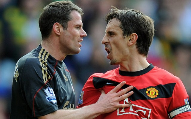 Even on Neville's birthday, Carra can't help taking the p*ss…