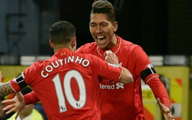 (Image) Firmino 'likes' post about Coutinho wanting LFC return