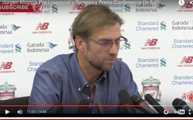 (Video) Jurgen Klopp snapped at a journalist following Newcastle defeat