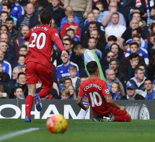A return to form for Coutinho proved the difference for Liverpool against Chelsea