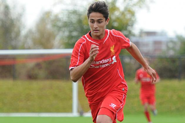 Yan Dhanda signs first professional deal with Liverpool
