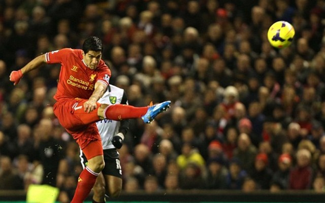 Luis Suarez chooses one-word to sum up Anfield