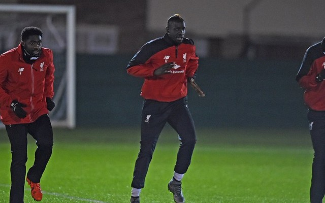 (Image) Sakho shows off new LFC changing room; Mama back at Melwood