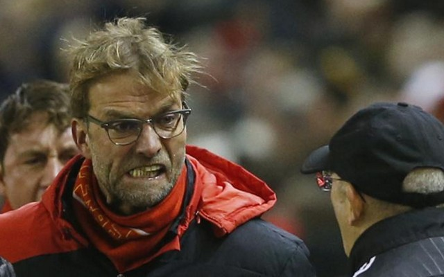 (Video) Klopp refuses to shake Pulis's hand after dirty West Brom tactics