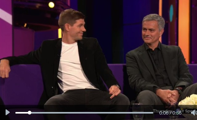Gerrard: Mourinho begged me to sign so many times