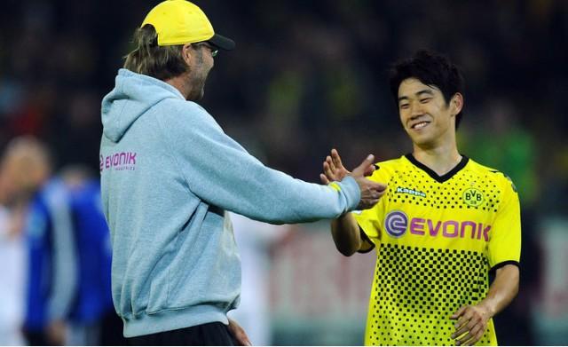 Shinji Kagawa explains his Liverpool interest and praises 'great' Jurgen Klopp