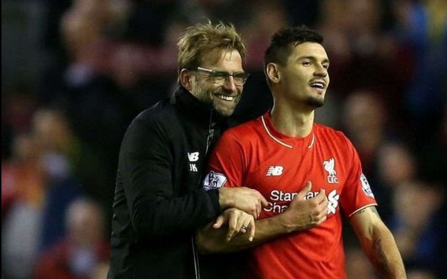 Dejan Lovren reveals Jurgen Klopp has been messaging him about Liverpool