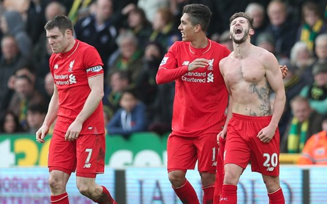 Adam Lallana gives assist to medical team after settling Norwich thriller