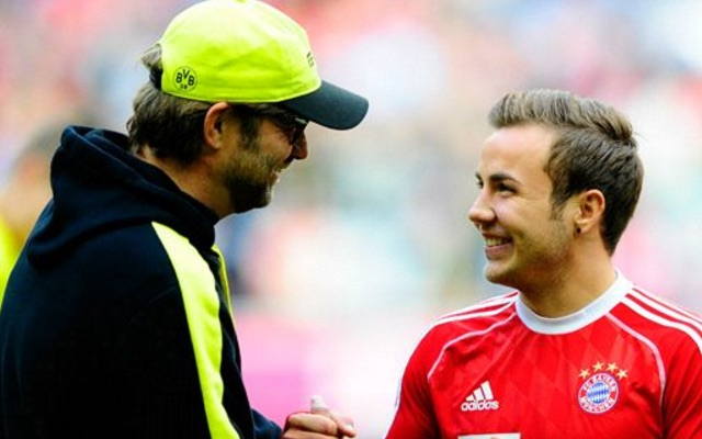 Another strong hint that Mario Gotze is Liverpool bound emerges