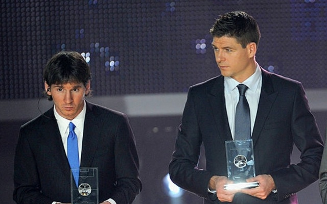 Lionel Messi makes brilliantly bold statement about Steven Gerrard