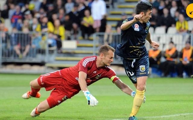 (Video) Luis Garcia scores back-heel beauty in Australian A-League