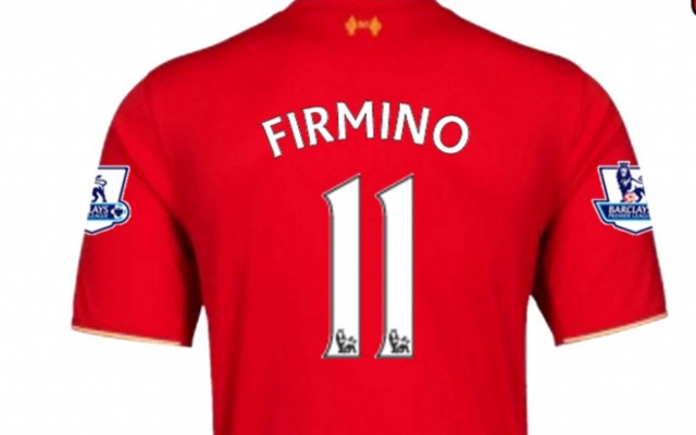 Liverpool's 10 most popular shirt names – Firmino 2nd, Mignolet 9th!