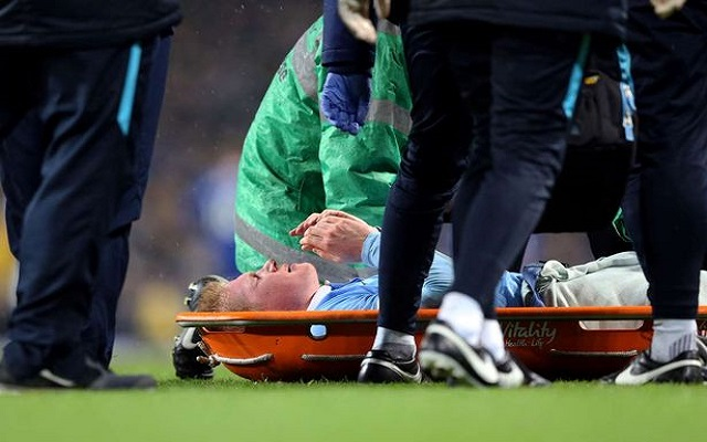 League Cup final news: Kevin De Bruyne ruled out through injury
