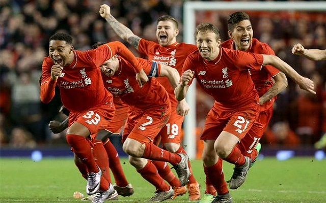 (Video) Full Liverpool v Stoke penalty shoot-out – Watch 6 classy Red efforts