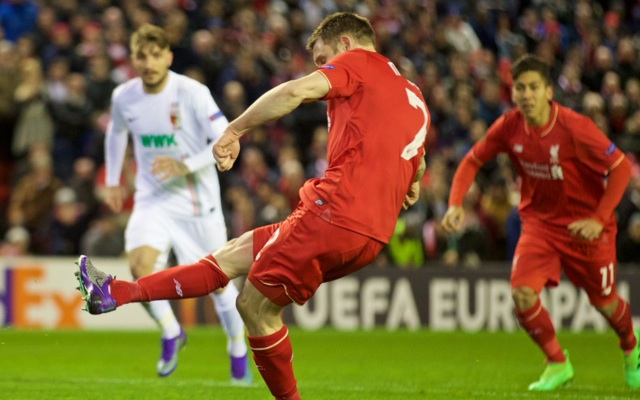 Liverpool player ratings v Augsburg: Coutinho shines, with Sakho back to his best as well