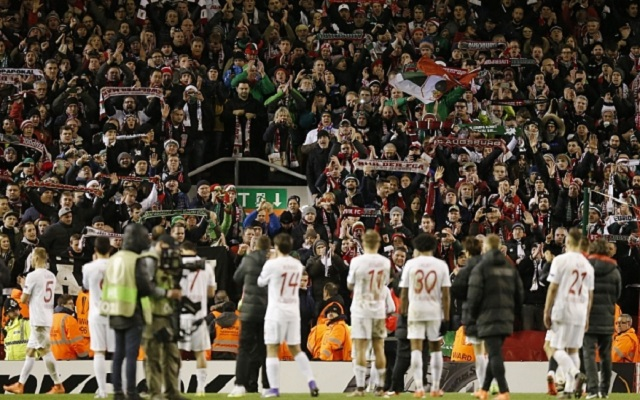 Awesome Augsburg fans on fine form as Liverpool win 1-0