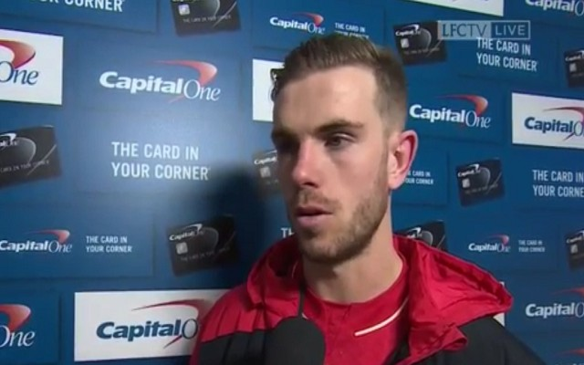 "(Video) Henderson says Liverpool's players ""left everything on the field"""