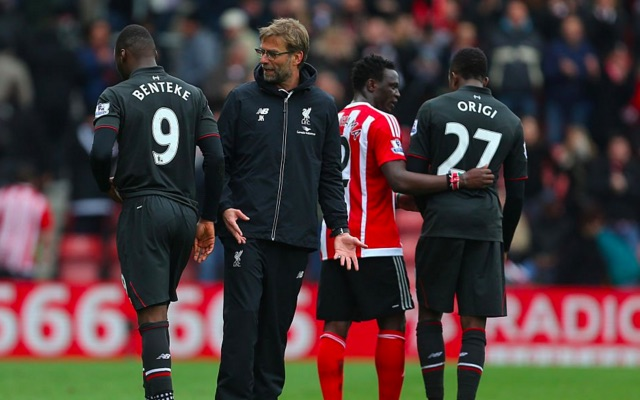 Klopp tells players to forget about the Champions League