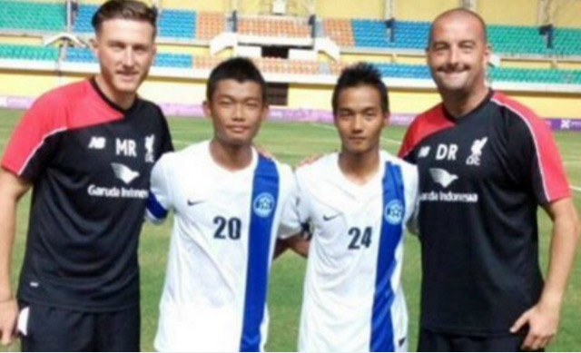 Liverpool trial full Indian international and his club team-mate