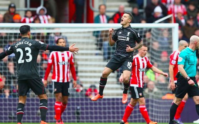 (Video) Coutinho scores another brilliant goal v Southampton
