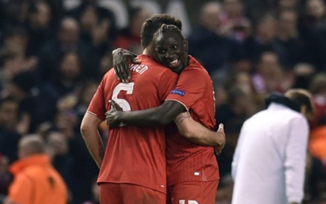 (Video) Sakho kisses Lovren after Liverpool progress to Europa League quarters